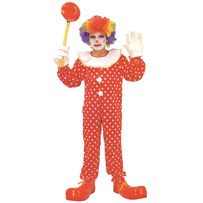 Costumes For All Occasions AF86SM Small Clown Costume Deluxe Child Size