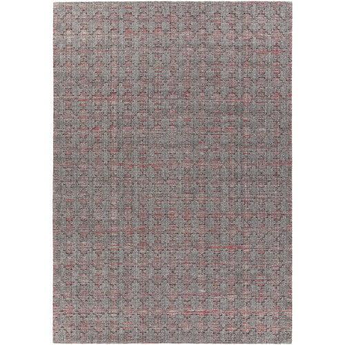 Chandra Rugs Netix Hand-Woven Red/Gray Area Rug