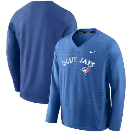 Toronto Blue Jays Nike Performance Pullover Windshirt - Royal Toronto Blue Jay Stadium