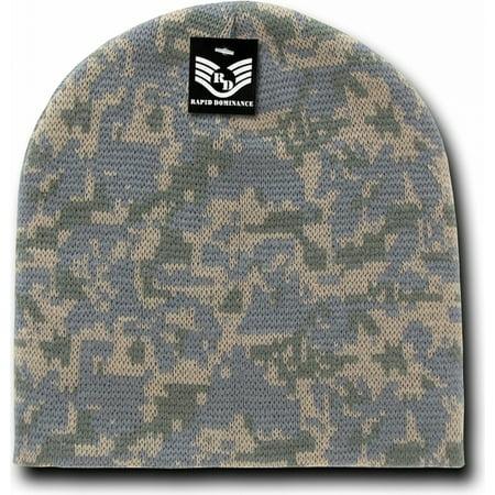 RapDom Camouflage Mens Short Beanie Cap [Universal Digital - - Adult Universe