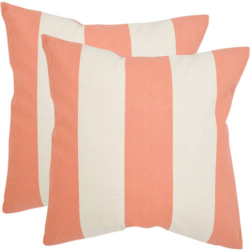 Safavieh Sally Stripe Pillow, Set of 2