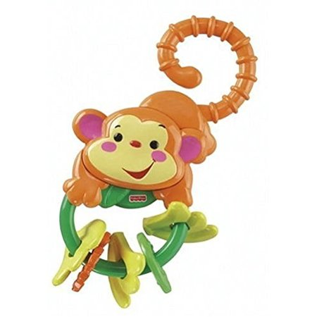 Fisher-Price Rainforest Monkey Teether - Fisher Price Animals Of The Rainforest