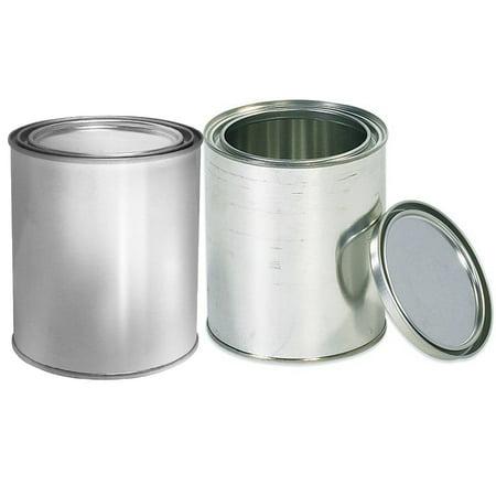 empty quart paint cans with lids 2 pack empty metal