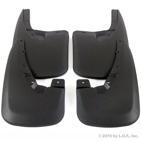 Heavy Duty Mud Guards for 2009-2018 Dodge Ram 1500 & 2010-2018 Ram 2500/3500 Front & Rear 4 piece Set (Only Fits Trucks WITHOUT Fender (Fender Stone Guard)