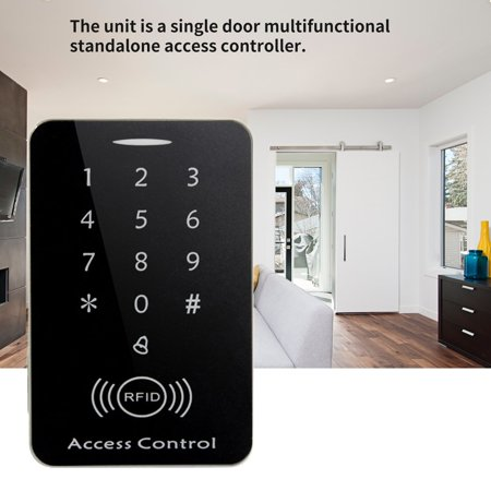 M203SE RFID Standalone Touch Screen Access Control Card Reader With 10pcs Keys - image 8 of 10