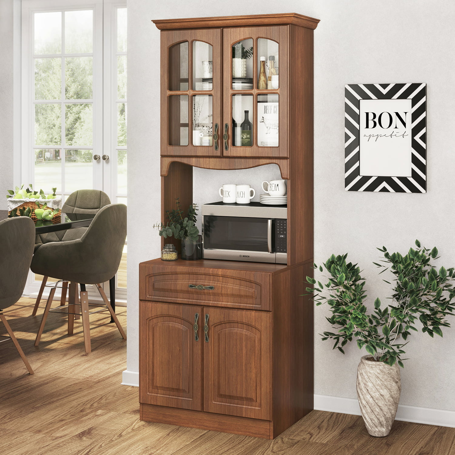 Living Skog Galiano 71 x 26 x 19 in (HxWxD) Pantry Kitchen ...