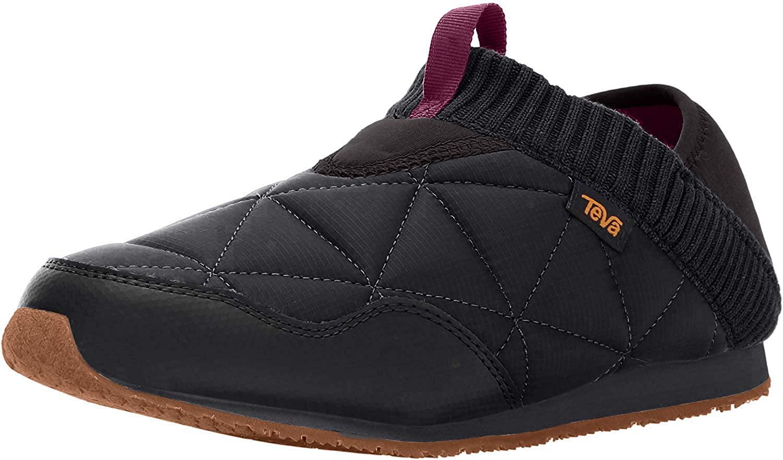 Teva Women's W Ember Moc Shoe, Black, 6