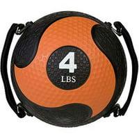 4 lbs Rhino Ultra Grip Medicine Ball, Orange