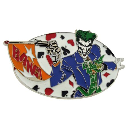 Officially Licensed Belt Buckle (Batman Movie Joker the Character Bang Belt Buckle Officially Licensed Product)
