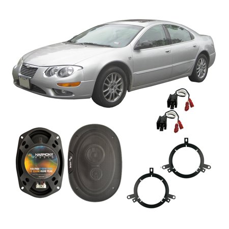 Fits Chrysler 300M 1999-2004 Rear Deck Replacement Harmony HA-R69 Speakers - 2004 Chrysler 300m Exhaust