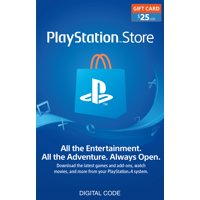$25 PlayStation Store Gift Card [Digital Download]