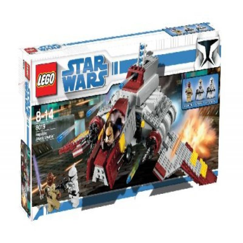 LEGO Star Wars The Clone Wars Republic Attack Shuttle Set #8019 ...