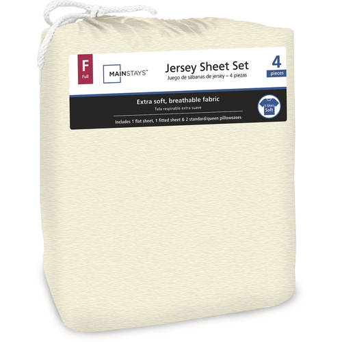 Mainstays Jersey Knit Sheet Set