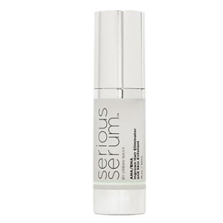 Serious Serum AHA BHA Liquid Exfoliant - For Ingrown Hairs, Keratosis  Pilaris, Pimples, Dark Spots and Beard Bumps