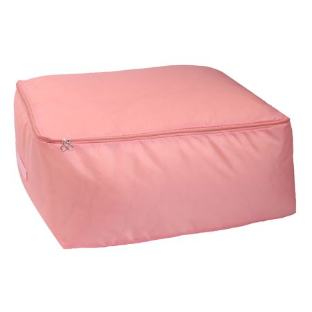 (Oxford Cloth Clothes Quilts Blankets Pillows Storage Box Holder Coral Color)