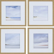 Paragon Shores by Fleury 4 Piece Framed Painting Print Set