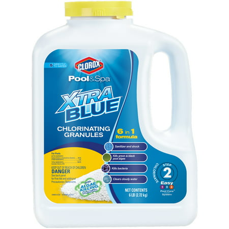 Clorox pool spa xtrablue all in one chlorinating granules - How long after pool shock before swim ...