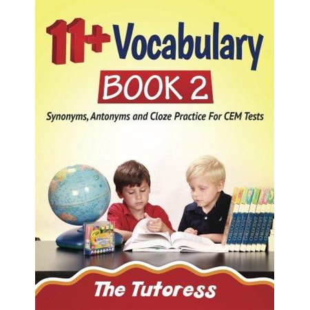 11  Vocabulary Book 2  Synonyms  Antonyms And Cloze Practice For Cem Tests