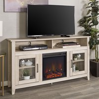 Product Image Walker Edison Tall Fireplace Tv Stand For S Up To 64