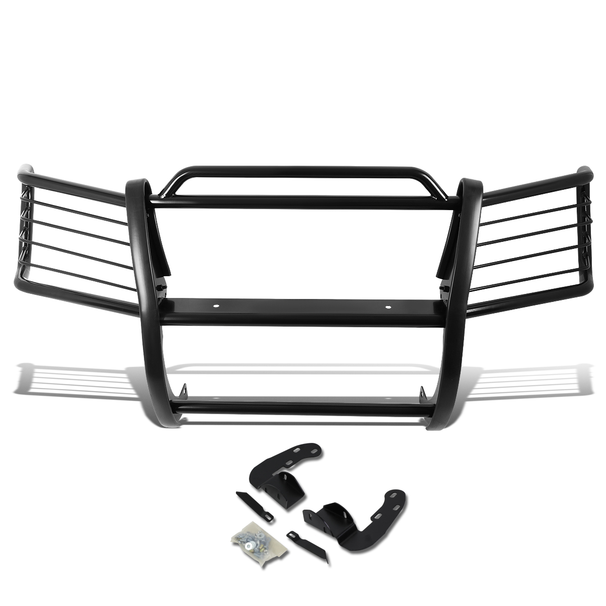 For 02-09 Chevy Trailblazer EXT Front Bumper Protector Br...