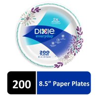"""Dixie Everyday Paper Lunch Plates, 8.5"""" , 200 Count"""