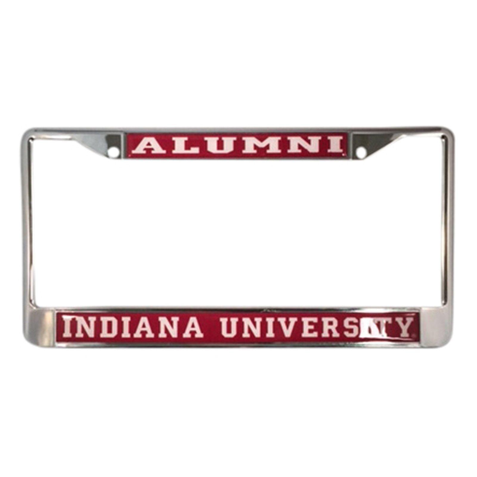 Indiana University Hoosiers Alumni License Plate Frame - Walmart.com