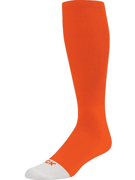TCK ProSport Elite Tube Knee High Long Socks Baseball Soccer Football (Orange, M)
