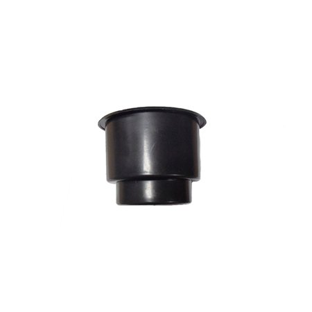 One Jumbo Black Plastic Cup-Holder Insert Made For Boats RVs Campers Trucks Decks and