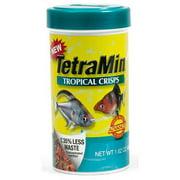 TetraMin Tropical Crisps Food for Tropical Fish, 1.62 Ounces
