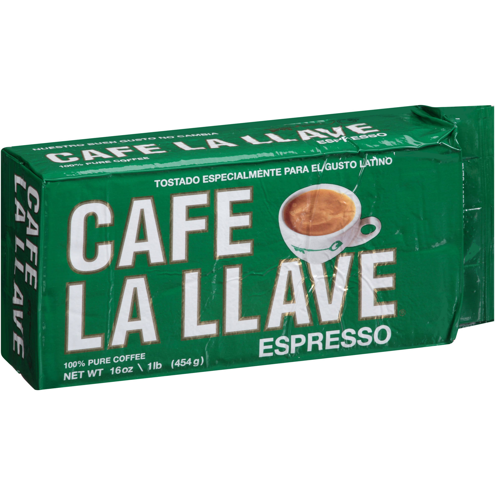 Cafe La Llave Espresso Coffee, 16 oz