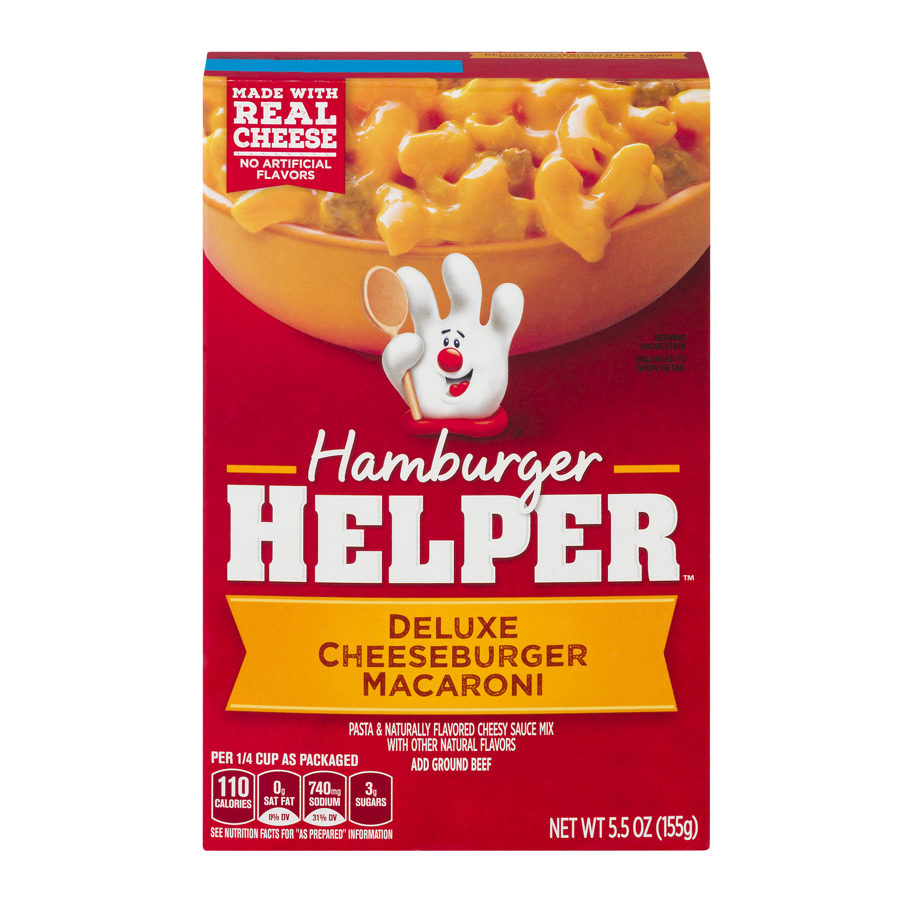 Betty Crocker® Hamburger Helper Deluxe Cheeseburger Macaroni 5.5 oz Box