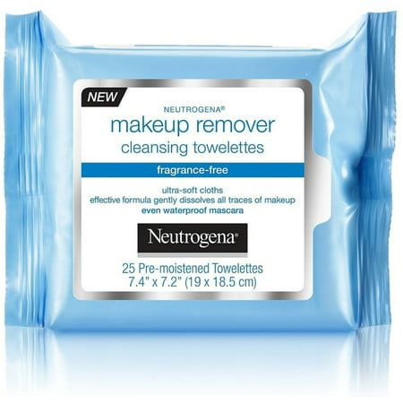 2 Pack - Neutrogena Make-Up Remover Cleansing Towelette, Fragrance-Free 25