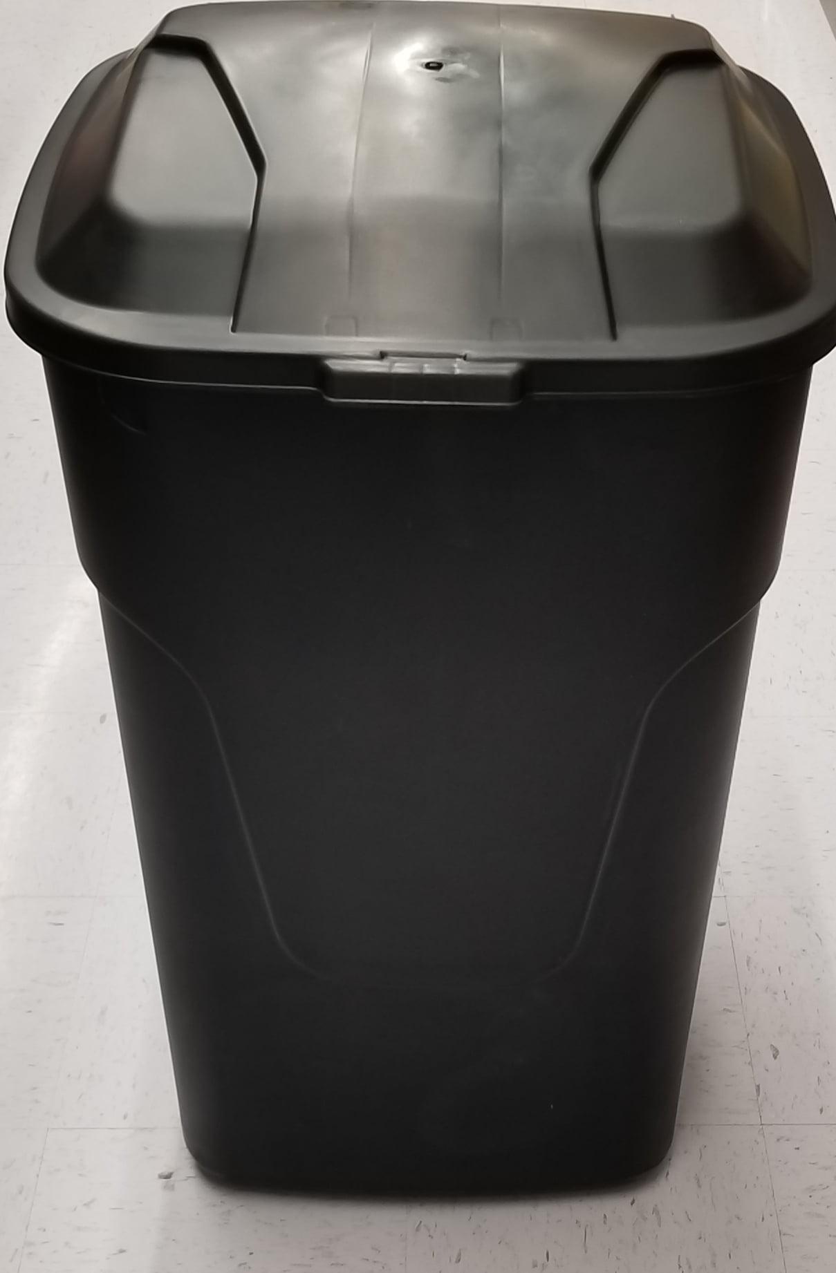 Hyper Tough 45g Wheeled Trash Can