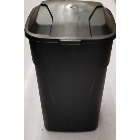 Hyper Tough 45g Wheeled Trash Can