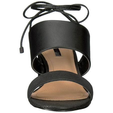 c0261eec08a Tahari Womens Doe Leather Open Toe Casual Mule Sandals