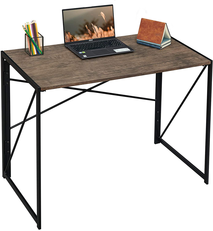 Aingoo Folding Writing Computer Desk Modern Simple Study Desk Laptop Table Home Office Walmart Com Walmart Com