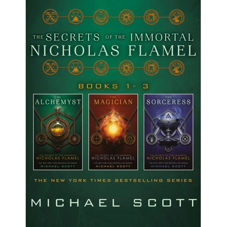 The Secrets of the Immortal Nicholas Flamel, Books 1-3 - (The Alchemist Immortal Secrets Of Nicholas Flamel)