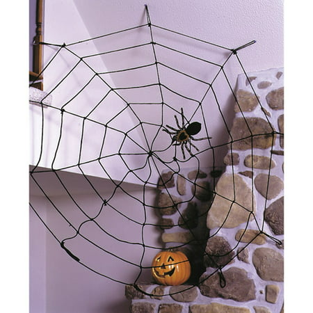 Fun World Spider Web Rope  Black