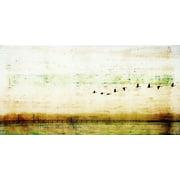 Parvez Taj Birds Flying Art Print On Premium Canvas