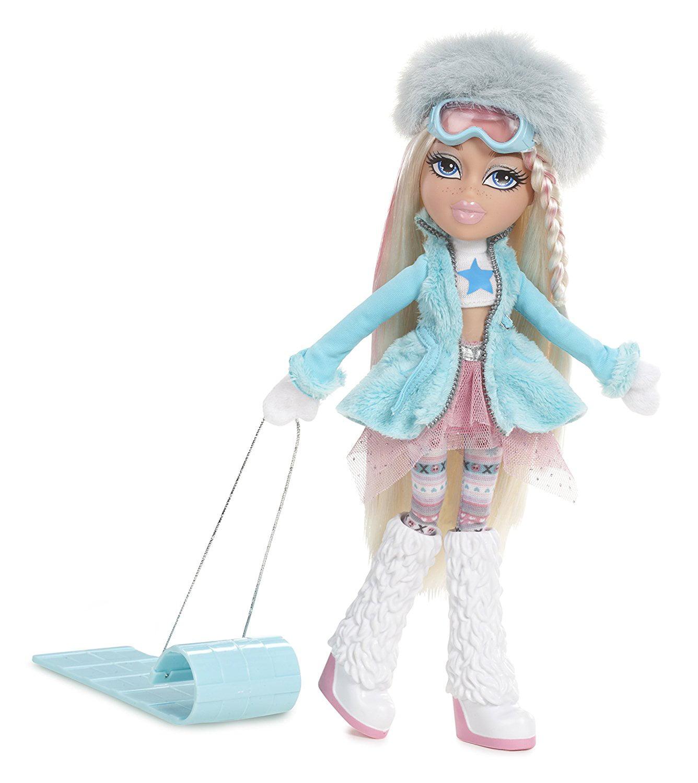 #SnowKissed Doll- Cloe, Bratz #SnowKissed Doll Cloe loves to go sledding all season long... by