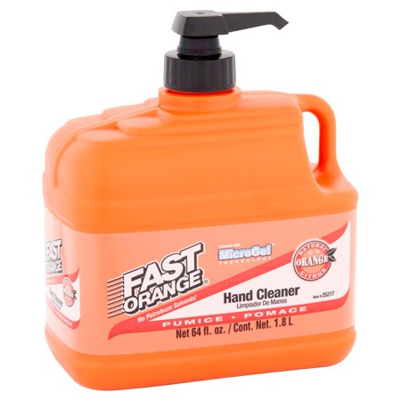 fast orange pumice hand cleaner 64 fl oz 25217 best hand soap