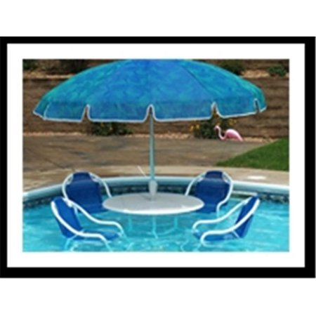 Pool Party Raft Table with 4 chairs