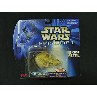 star wars episode i micro machines die-cast vehicle
