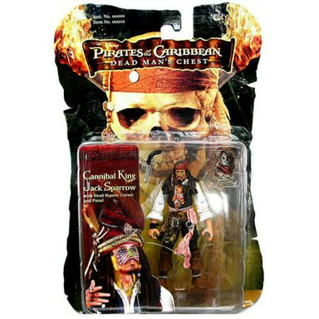 Captain Jack Sparrow Action Figure Cannibal King (Jack Jack From Incredibles)