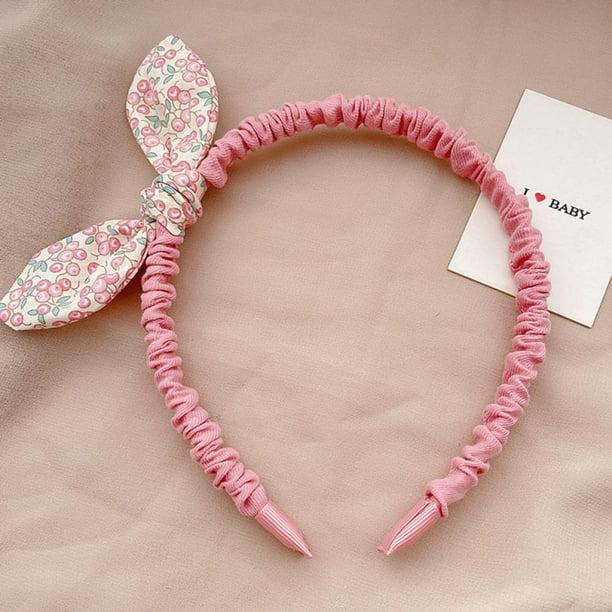 Details about  /Cute Rabbit Headband Hair Hoop Bow Tie Set Fashion Hair Hoop Hair Accessories