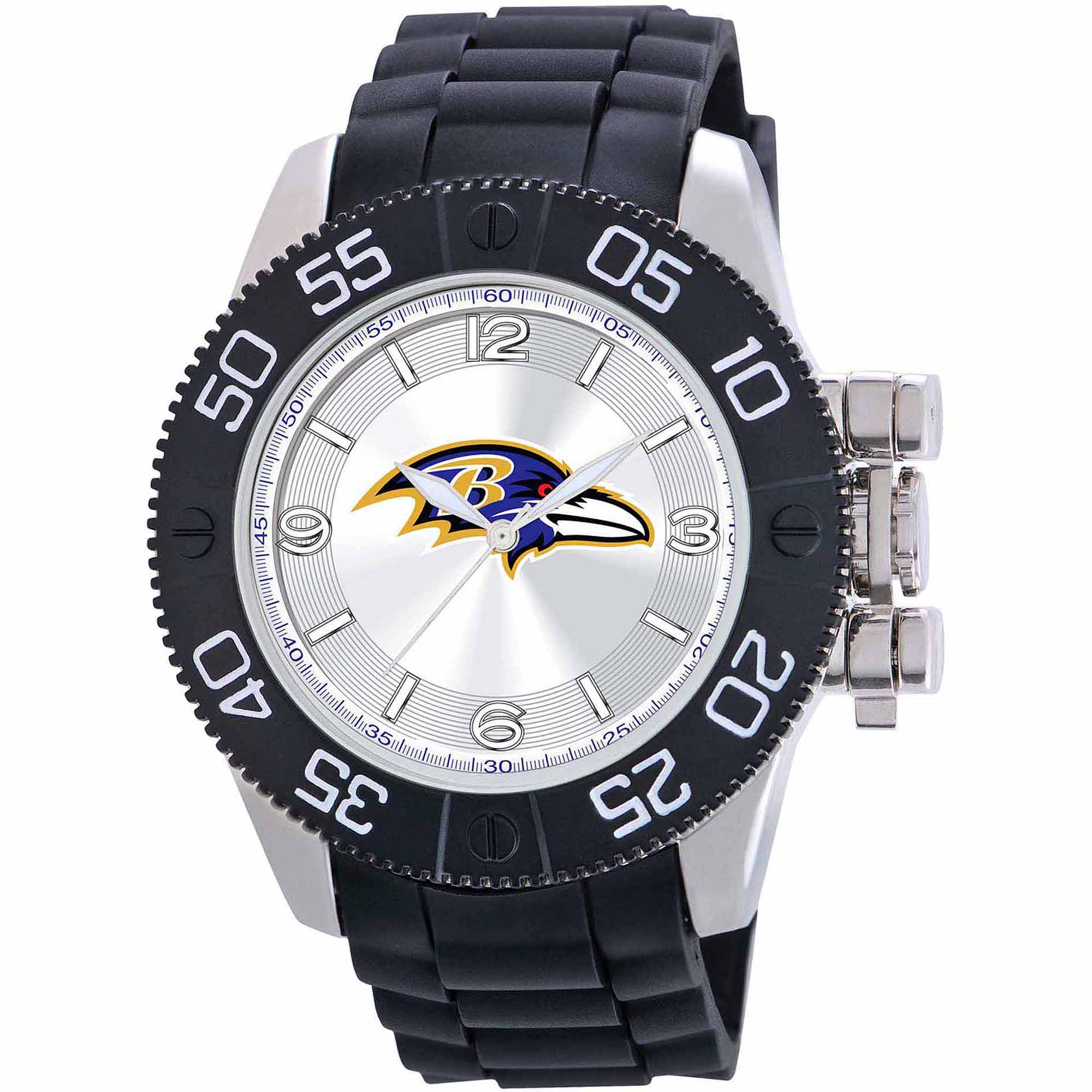 Game Time NFL Men's Baltimore Ravens Beast Series Watch