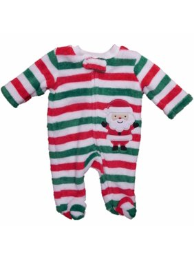 195fca22f7 ... new style 5c2d8 54088 Product Image Infant Boys Striped Santa Claus  Holiday Plush Blanket Sleeper Sleep  sale retailer 91a7f 285b0 Little  Wonders ...