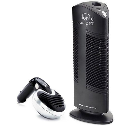 Ionic Pro Combo Air Purifier with Bonus Car Air Purifier  90IP1RCMB1