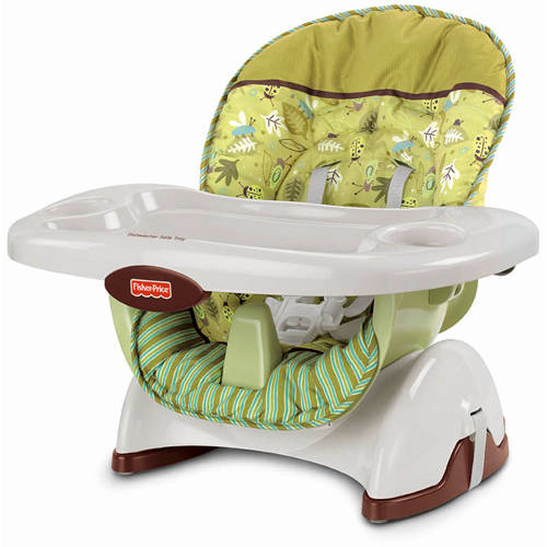 Fisher-Price - Space-Saver High Chair and Booster, Scatterbugs