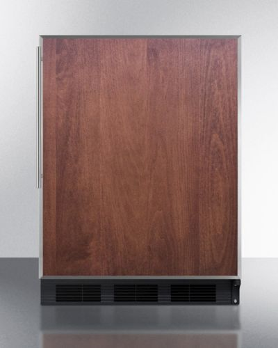 Medical Summit NSF Compliant Built-in Under-Counter Refrigerator -Wood
